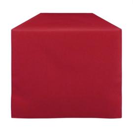 Bordløber, Rød, 30x132cm, Treb SP