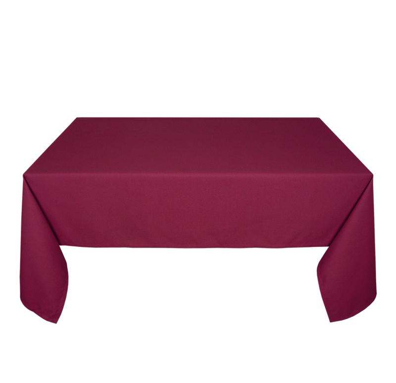 Toalha de Mesa, Vermelho Escuro, 178x366cm, Treb SP