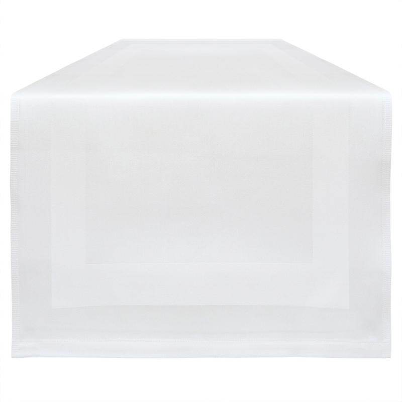 Corredor de Mesa, Branco, 53x140cm, Treb Classic