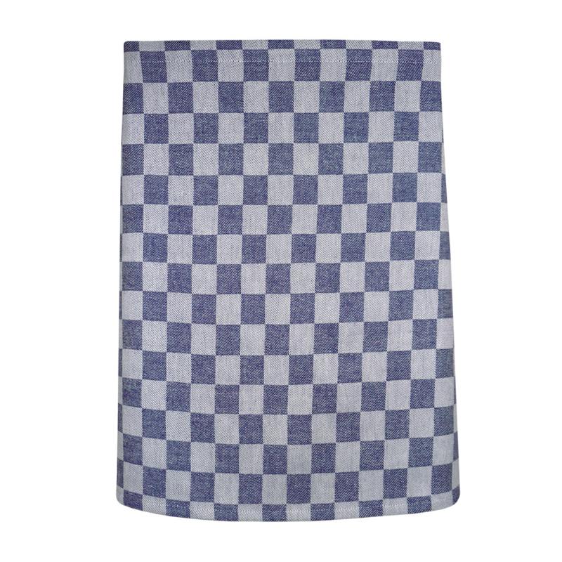 Tablier, damier bleu et blanc, 60x70cm, 100% coton, Treb WS