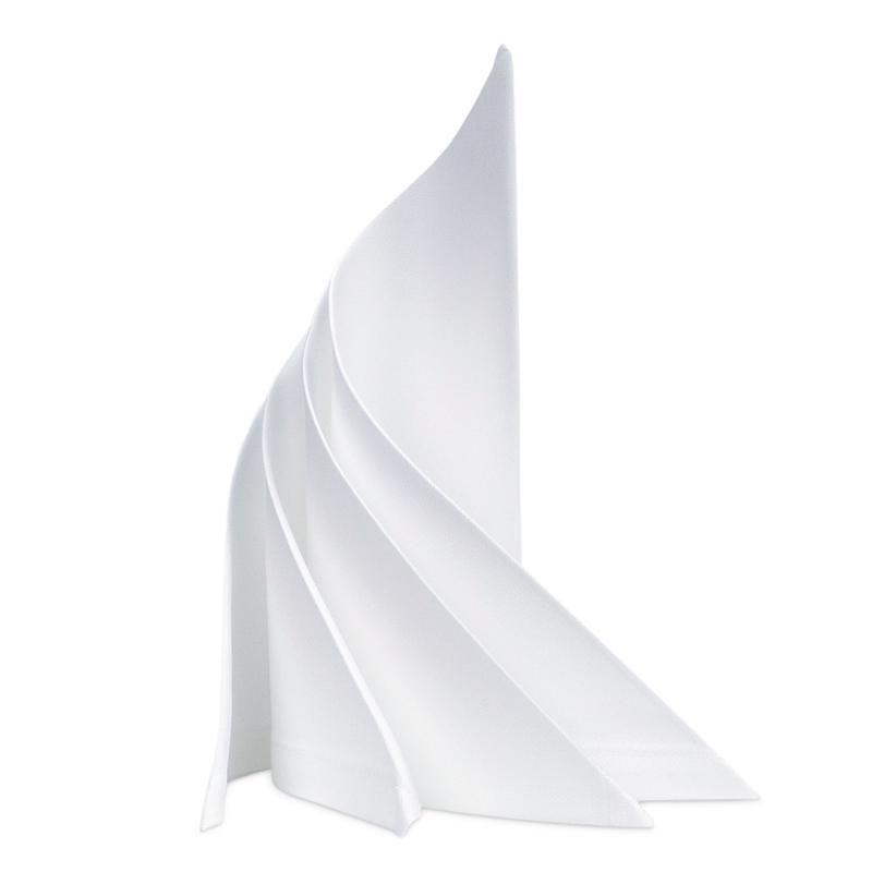 Guardanapos de tecido, branco, 53x53cm, algodão, RSU
