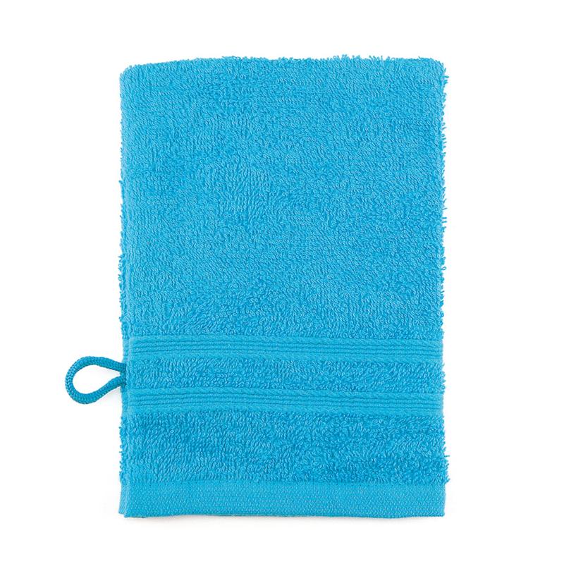 Débarbouillette, Turquoise, 15x22cm, Treb ADH