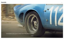 Fotoreproductie 250 GTO Targa Florio 1964
