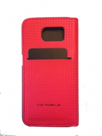 Galaxy S6 - BOOKTYPE - Racing red