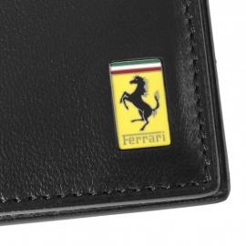 Lederen Ferrari heren portemonnee 488 GTB - zwart