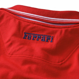 HK6 - Ferrari Polo constructed collar - Red