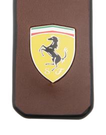Ferrari Shield Sleutelhanger - bruin