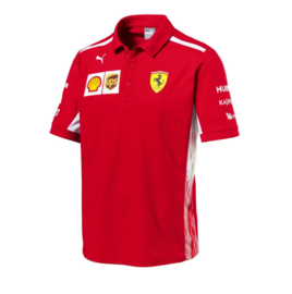KS8 - Ferrari Replica SF Team polo  for Kids - mt 98/104