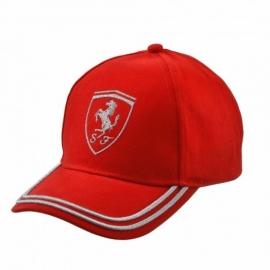 Kids Ferrari Cap Glitter - Rood