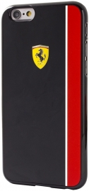 iPhone 6(S) PLUS - HARDCASE - Scuderia zwart/rood