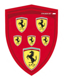 Ferrari Stickerset