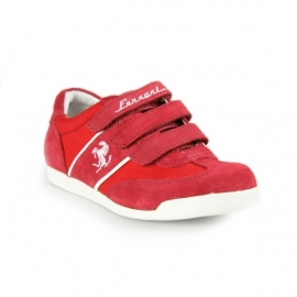 FE2407 Ferrari Kids Sneaker Maranello - Red