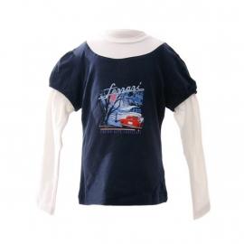 FE1748 Long Sleeve T-shirt voor meisjes - mt 92 t/m 110