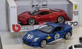 Ferrari California T The Sunoco - Bburago Limited Edition - 1:18
