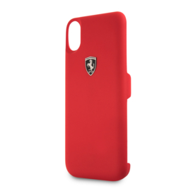 iPhone X - POWERCASE - Off Track -Red