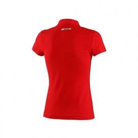 DG3 * Ferrari Dames Poloshirt Tricolore - rood