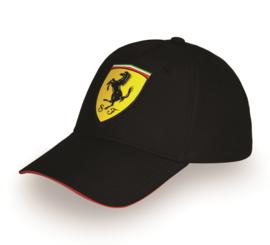 Ferrari Carbon Cap - zwart