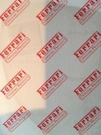 Sticker Scuderia schild - groot