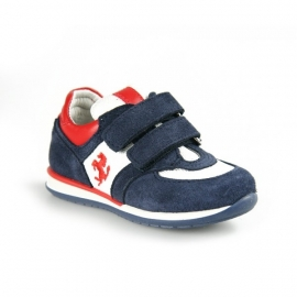 FE2433 Ferrari Kids Sneaker Tri Colore