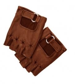 Bruin Lederen Handschoenen