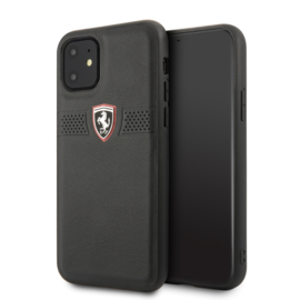 iPhone 11  - HARDCASE - Off Track Grained - Black