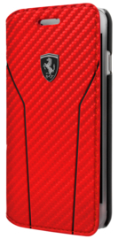 iPhone - BOOKTYPE - Off Track Carbon - Red