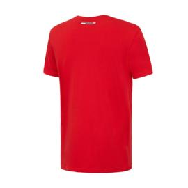 KG6 - Ferrari Kids T-shirt Red Power - rood