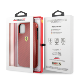 iPhone 11 - HARDCASE  - Carbon Red