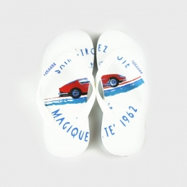 Slippers wit FE2423