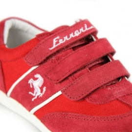 FE2407 Ferrari Kids Sneaker Maranello - Red