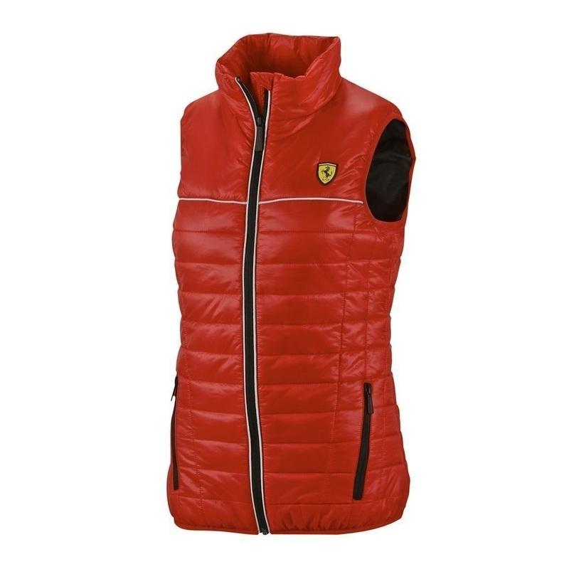 DG5 * Ferrari Dames Bodywarmer - rood