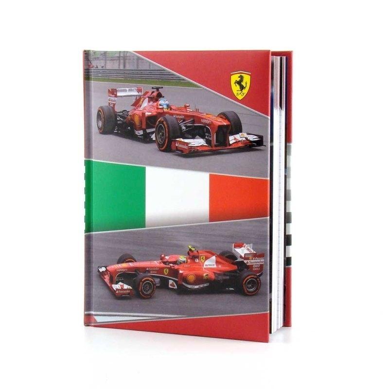 Ferrari schoolagenda - Tri colore