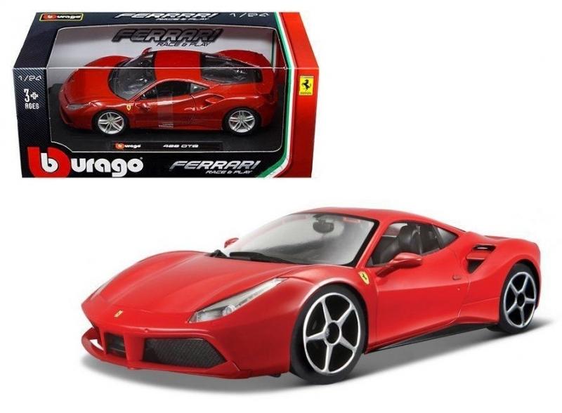 Ferrari Race & Play 488 GTB 1:24 Bburago