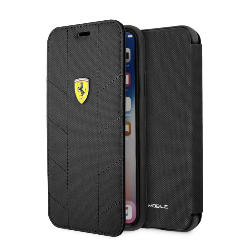 iPhone X(S) - BOOKTYPE - Racing Tyres - Black