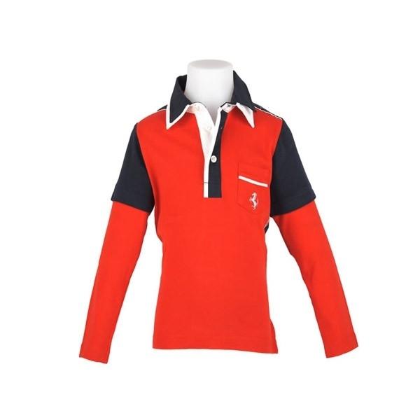 FE2798 Ferrari Kids Poloshirt - mt 98 en 110