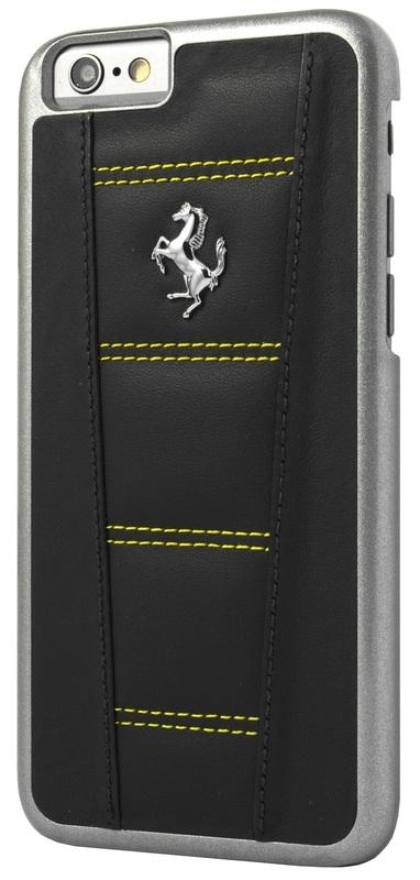 iPhone 6(S)PLUS - HARDCASE 458 zwart/geel