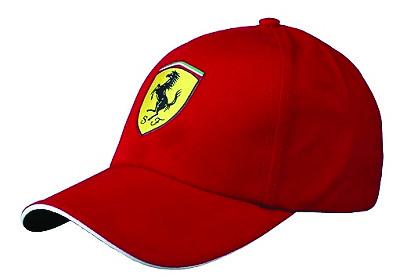 Ferrari Carbon Cap - rood