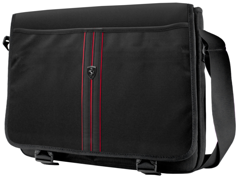 Ferrari Messenger Bag Urban Collection - zwart