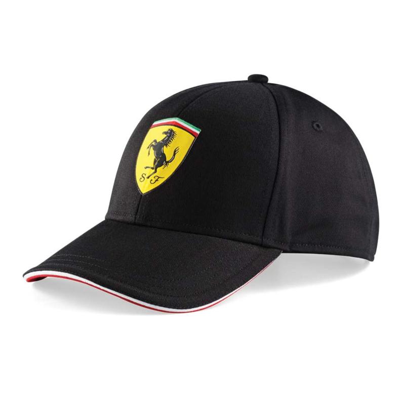 Kids Classic Ferrari Cap - zwart
