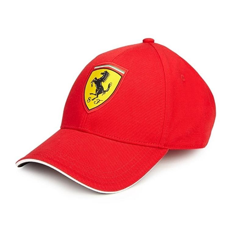 Kids Classic Ferrari Cap - rood