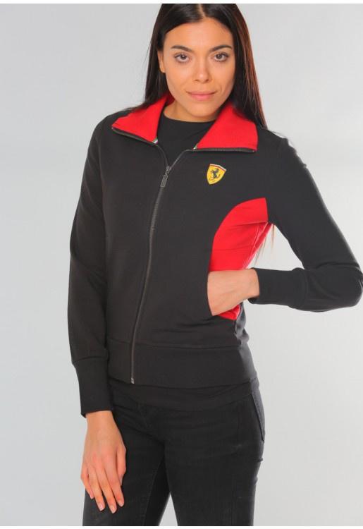DS8 * Ferrari Dames Sweatvest - zwart