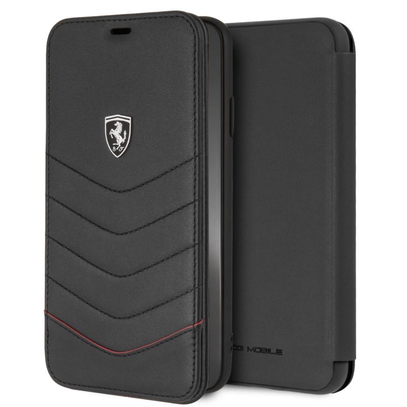 iPhone X(S) MAX - BOOKTYPE  - Heritage - Black
