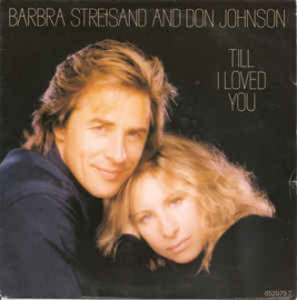 "Barbra Streisand ‎– All I Ask Of You (7"" Single) S90"
