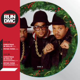 Run DMC ‎– Christmas In Hollis (PICTURE DISC)