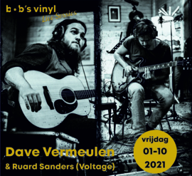 Ticket Live Sessie: Dave Vermeulen (Voltage) UITVERKOCHT!