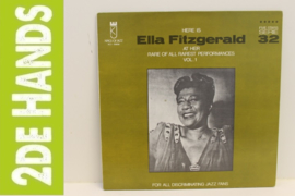 Ella Fitzgerald – Here Is Ella Fitzgerald At Her Rare Of All Rarest Performances Vol. 1 (LP) C70