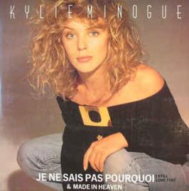 """Kylie Minogue – Je Ne Sais Pas Pourquoi  (12"""" Single) T30"""
