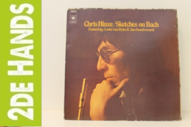 Chris Hinze Feat. Louis Van Dyke & Jan Goudswaard ‎– Sketches On Bach (LP) C50