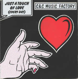 "C & C Music Factory ‎– Just A Touch Of Love (Everyday) (7"" Single) S90"