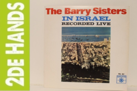 Barry Sisters ‎– The Barry Sisters In Israel - Recorded Live (LP) C90